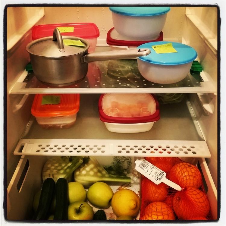 Virna ha monopolizzato il frigorifero!